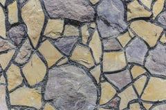 Textur av en bana från flodstenar Royaltyfri Fotografi