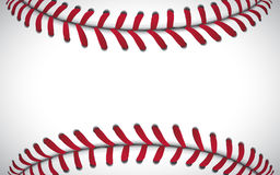 Textur av en baseball, sportbakgrund, vektorillustration stock illustrationer