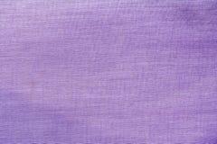 Textur av en blå bomullsfiberyttersida som bildar ett tyg, abstrakt bakgrund Fotografering för Bildbyråer