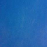 Textur av en blå sliten torkduk Royaltyfri Bild