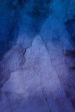 Textur av en blå vägg Royaltyfri Fotografi