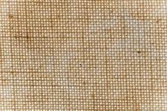 Textur av en brun kanfas Arkivbilder