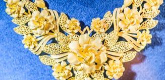 Textur av en del av halsband Royaltyfri Bild