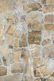 Textur av en gammal antik stenvägg, abstrakt bakgrund för arkitektur arkivfoto