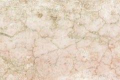 Textur av en gammal sprucken vägg som göras av betong Royaltyfri Foto
