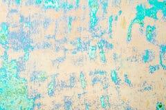 Textur av en gammal vägg av en forntida byggnad med ett förstört murbruklager Arkivfoto
