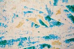 Textur av en gammal vägg av en forntida byggnad med ett förstört murbruklager Royaltyfri Bild