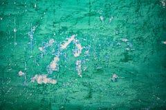Textur av en gammal vägg av en forntida byggnad med ett förstört murbruklager Royaltyfri Foto