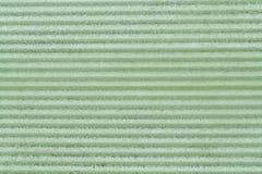 Textur av en grön metallyttersida Arkivbilder