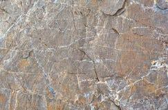 Textur av en hög av bergstenar Arkivbilder