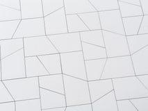 Textur av en modern byggnad Royaltyfri Bild