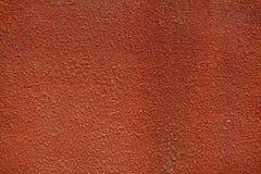 Textur av en orange vägg Royaltyfria Bilder