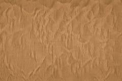 Textur av en pappers- kraft påse som göras med återanvända material royaltyfri foto