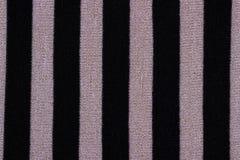 Textur av en randig stucken tröja Royaltyfri Fotografi