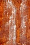 Textur av en rostig metall Fotografering för Bildbyråer