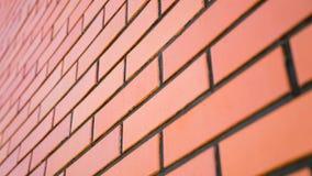 Textur av en tegelstenvägg Arkivfoton