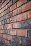 Textur av en tegelstenvägg Arkivbild