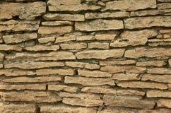 Textur av en vägg från sandsten Royaltyfri Foto