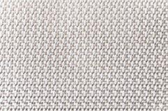 Textur av en vit kanfas Arkivfoto
