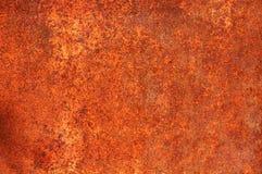 Textur av ett ark av gammalt rostigt järn abstrakt bakgrund Arkivfoto