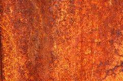 Textur av ett ark av gammalt rostigt järn abstrakt bakgrund Royaltyfri Bild