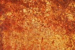 Textur av ett ark av gammalt rostigt järn abstrakt bakgrund Royaltyfri Fotografi