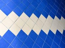 Textur av färgrikt bakgrunden för tegelplattagolv Royaltyfria Foton