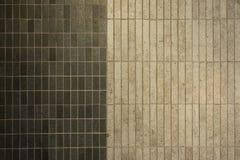 Textur av fina keramiska tegelplattor Arkivbilder