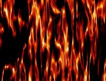 Textur av flamman Royaltyfria Bilder