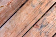 Textur av gamla trämålade bräden royaltyfri fotografi