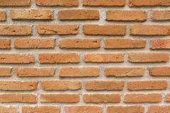 Textur av gammal bakgrund för vägg för röd tegelsten Royaltyfria Foton