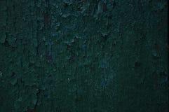 Textur av gammal grön målarfärg Royaltyfri Fotografi