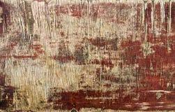 Textur av gammal målad kryssfaner Arkivfoton