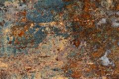 Textur av gammal och rostig metall fotografering för bildbyråer