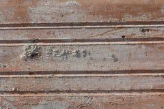 Textur av gammal riden ut tegelsten i hårt direkt solljus arkivbilder