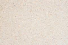 Textur av gammalt organiskt papper för ljus kräm, bakgrund för design med kopieringsutrymmetext eller bild Återvinningsbart mater Royaltyfria Bilder
