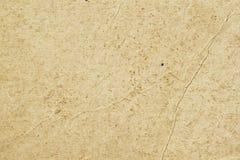 Textur av gammalt organiskt papper för ljus kräm med skrynklor, bakgrund för design med kopieringsutrymmetext eller bild återanvä royaltyfri foto