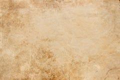 Textur av gammalt papper med skrapor och smutsiga fläckar Arkivfoto