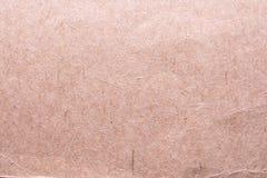Textur av gammalt sjaskigt och skrynkligt papper, tappningstil, abstrakt bakgrund Arkivbilder