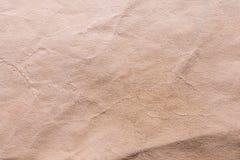 Textur av gammalt sjaskigt och skrynkligt papper, tappningstil, abstrakt bakgrund Arkivfoto