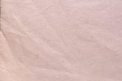 Textur av gammalt sjaskigt och skrynkligt papper, tappningstil, abstrakt bakgrund Royaltyfria Foton