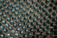 Textur av golvet av flaskan royaltyfri bild