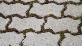 Textur av gråa golvtegelplattor Royaltyfria Bilder