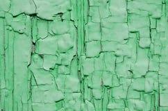 Textur av grön målarfärg Arkivfoto