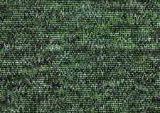 Textur av grön matttäckning Arkivbild