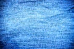 Textur av grov bomullstvill för bakgrund Royaltyfria Bilder