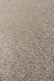 Textur av grus eller sand fotografering för bildbyråer