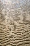 Textur av gul sand Arkivbilder