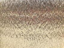 Textur av härlig gul guld försilvrar skinande folie för värmeisolering grönska för abstraktionbakgrundsgentile royaltyfri bild