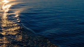 Textur av havsvatten arkivbild